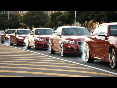 Driftmob feat  BMW M235i. One of the best commercial ad