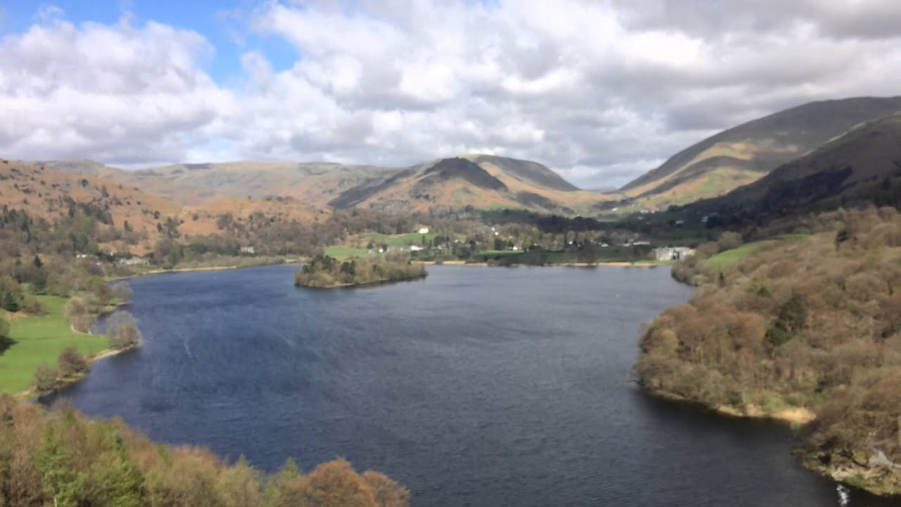 Fine View Of Grasmere, Lake District Youtube