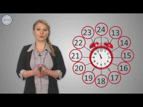 Видеоурок время