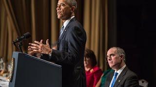 President Obama Speaks at the National Prayer Breakfast