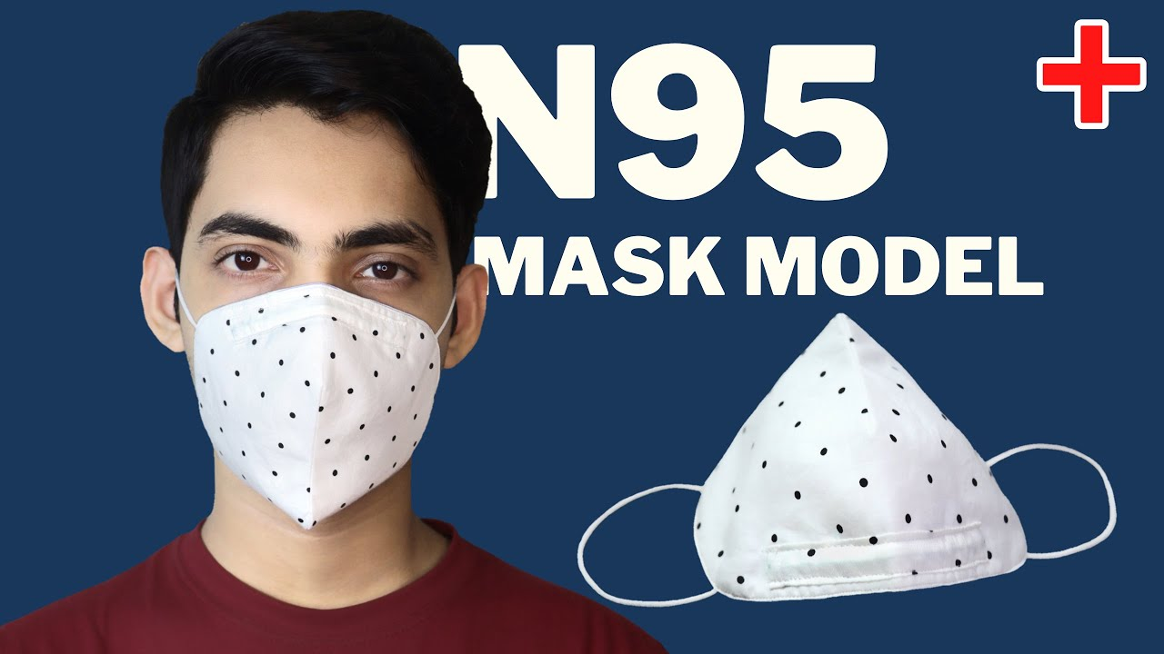 N95 Face Mask Model || Easy To Make Mask Sewing Tutorial || DIY Face Mask || Easy & Quick Mask