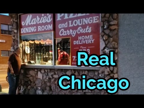 Marie's Pizza & Liquor Bar, Chicago, IL...Restaurant Reviews On The Road
