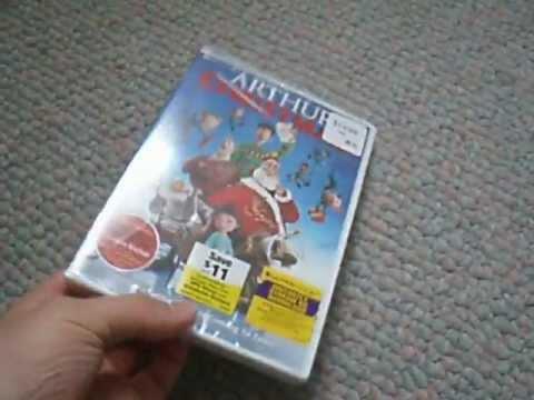 arthur christmas dvd unboxing plus recent pick ups youtube - Arthur Christmas Dvd