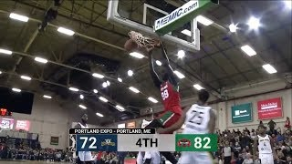 Tacko Fall is DESTROYING G League! Highlights compilation!