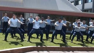 video: Watch: New Zealand police perform haka tribute for Sergeant Matt Ratana