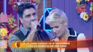 Xuxa faz declaração de amor emocionante para Junno