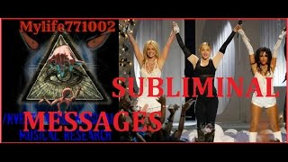Like A Virgin & Hollywood - Madonna, Britney Spears ft Christina Aguilera (Subliminal Messages)