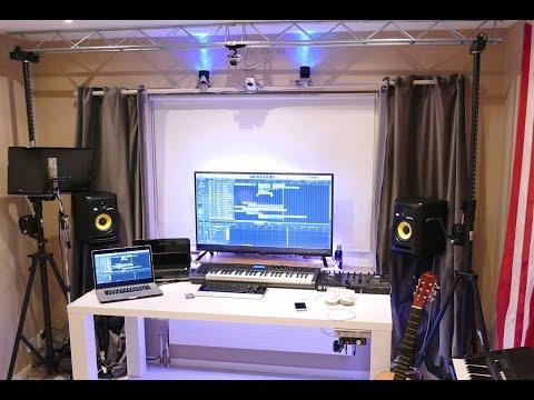 NEW HOME RECORDING STUDIO TOUR (2016)