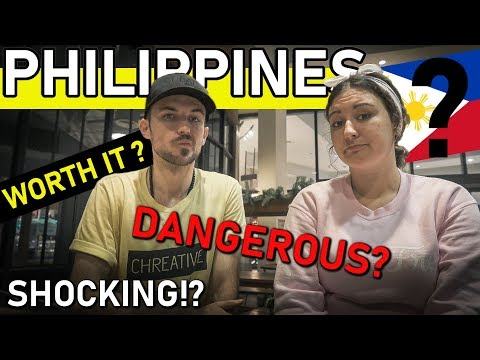 5 FIRST IMPRESSIONS of the PHILIPPINES - Is it DANGEROUS for Tourists??