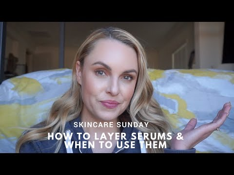 How to LAYER Skincare & WHEN to use them || Vit C + Retinol - Elle Leary Artistry