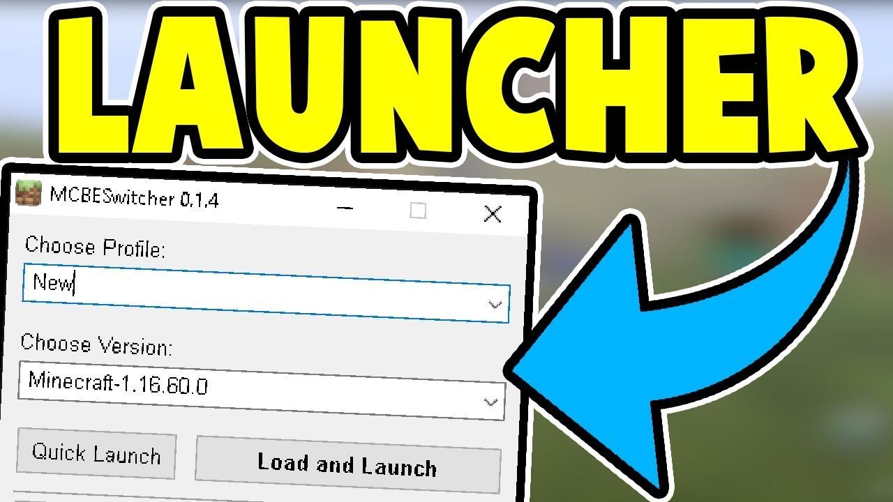 A Minecraft Windows 10 Edition Version Launcher [UPDATED]