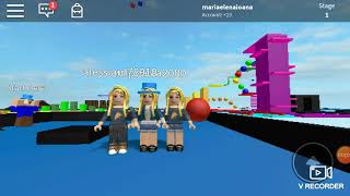 Me and my friends on ROBLOX (SCZ that I was not with the headphones and MNA dswriting)