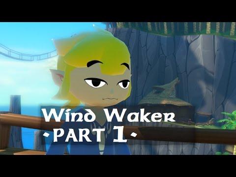 legend of zelda wind waker gamecube silent playthrough part 1 Outset Island - Forsaken Fortress