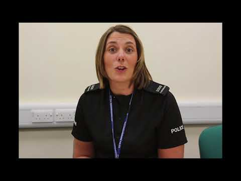 Working for us: PC Amie Whitehouse