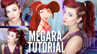 MEG FROM HERCULES // HAIR & MAKEUP TUTORIAL