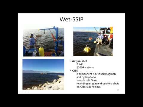 Results from the Salton Seismic Imaging Project SSIP
