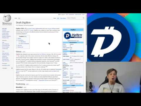 DigiByte Update - #147 - DigiByteComics.com, Wikipedia Article, And 6th Anniversary LiveStream