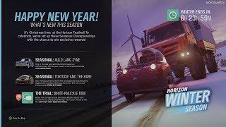 Forza Horizon 4 - Winter Season Change (January 3) [4K]