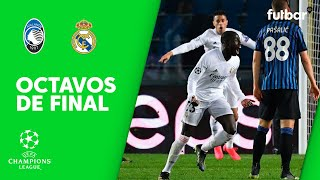 ATALANTA 0-1 REAL MADRID - RESUMEN 1/8 DE FINAL DE CHAMPIONS LEAGUE