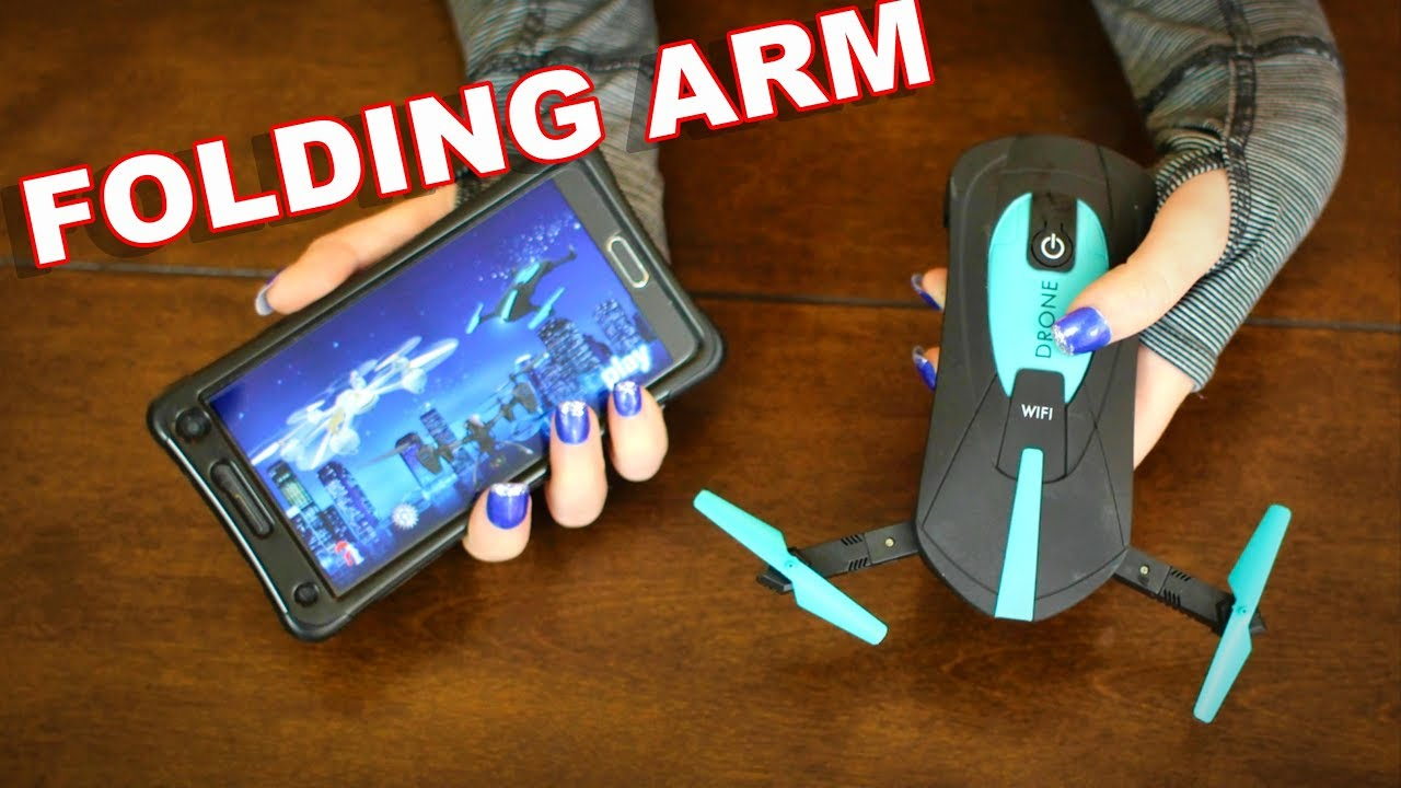 Affordable Folding Arm Pocket Drone WiFi FPV - JY018 - TheRcSaylors