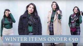 Style Challenge: Winter items onder €50 - Anna Nooshin
