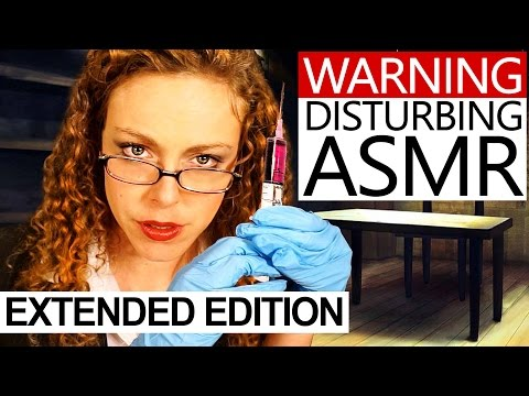 Disturbing ASMR Extended Edition, Enhanced Interrogation Roleplay! Ear Massage, Mouth Sounds Torture