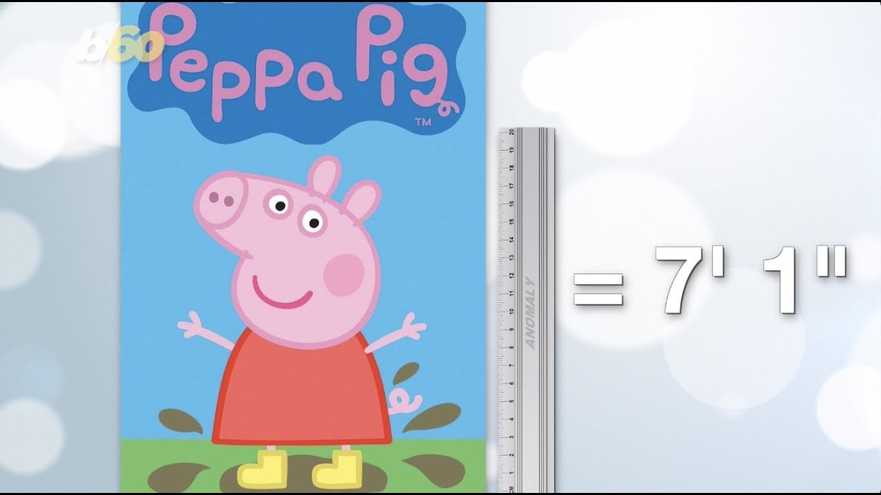 Peppa Big Internet Claims Peppa Pig Is A 7 Foot Tall Giant Youtube