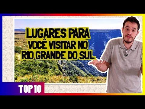 10 Melhores Lugares para Visitar no RIO GRANDE DO SUL