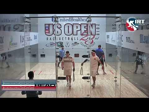 2018 US Open: Doubles Semi-Final: Waselenchuk/Croft vs Bredenbeck/Diaz