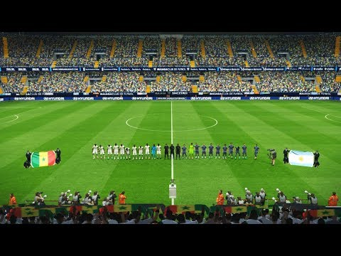 Senegal vs Argentina FINAL | Full Match | FIFA World Cup 2018 Russia | Gameplay
