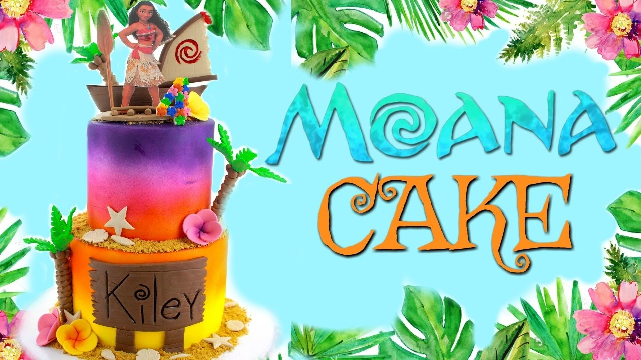 Moana Cake Bakery Vlog 2 Youtube