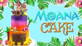 MOANA CAKE (BAKERY VLOG #2)