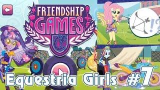 Мотокросс и стрельба из лука - игра Equestria Girls - #7