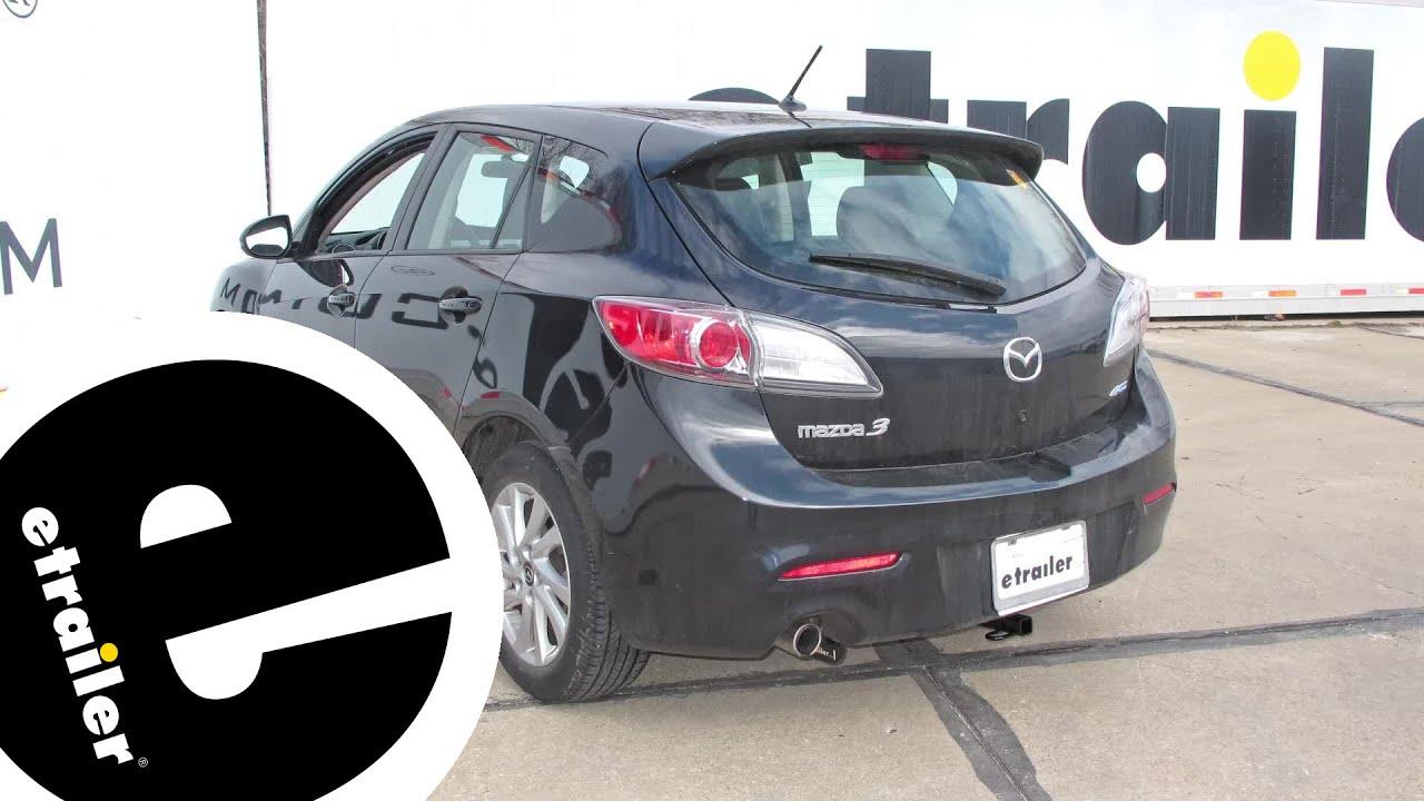 Beautiful Install Trailer Hitch 2013 Mazda 3 24843   Etrailer.com