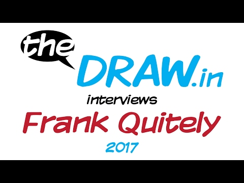 theDRAW.in - Frank Quitely interview in his studio after Rutherglen Comic Con, Scotland