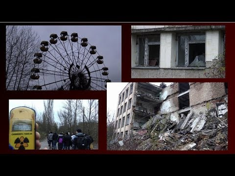 GHOST TOWN PRIPYAT 2018  -  32 years after  Chernobyl nuclear disaster