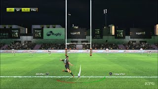 Rugby 20 - Stade Rochelais vs Pau - Gameplay (PS4 HD) [1080p60FPS]