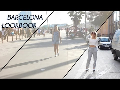Barcelona lookbook I Summer to fall