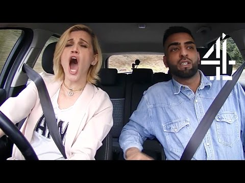 Ashley Roberts Has Some Serious Road Rage  Driven to Distraction
