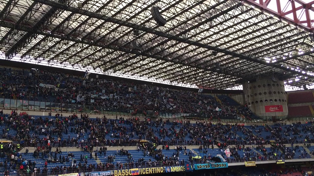 Tifosi Spal A Milano 10 09 2017 Inter Spal 2 0 Youtube