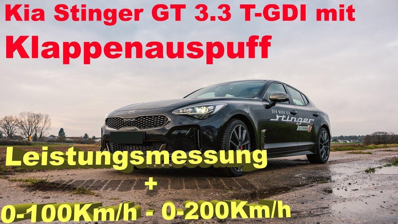 kia stinger abgasanlage \u2013 mechanikerwas bringt der klappenauspuff für 2 600\u20ac beim kia stinger gt 3 3 t