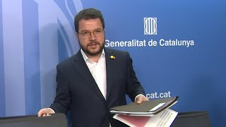 Aragonès defiende el diálogo entre Torra y Sánchez