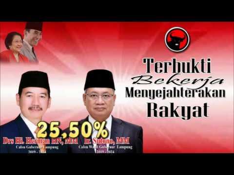 Hasil Quick Count Pilkada Lampung 2018