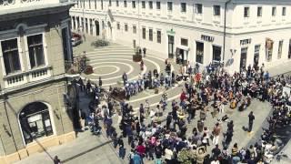 Flashmob Oradea - Carmina Burana - 5 MINUTE PENTRU ORADEA, 06.05.2014