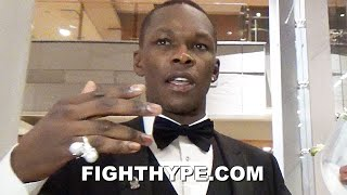 "ISRAEL ADESANYA KEEPS IT 100 ON JON JONES ""WANT THE SMOKE"", JAKE PAUL ""DRIP"", & A-SIDE ADVICE"