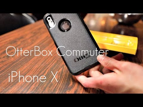 meet 8af84 d9ceb OtterBox Commuter Case - iPhone X - Hands on Review