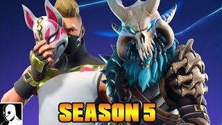 SEASON 5 & Battle Pass HYPE ! - Fortnite Battle Royale Gameplay German