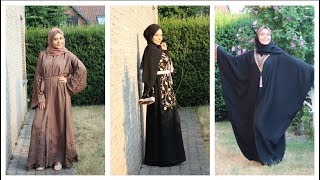 5 Abayas pour Eid El Ad'ha feat. EMIRATES DRESSING | Muslim Queens by Mona