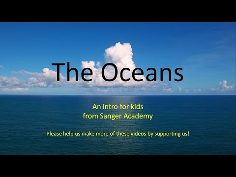 The Oceans - an intro for kids - Sanger Academy