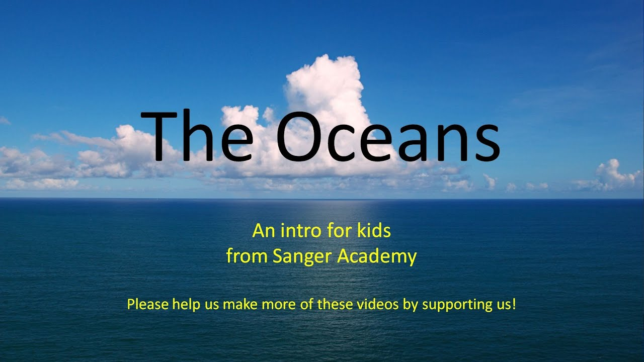 The Oceans An Intro For Kids Sanger Academy YouTube - Earth's four oceans